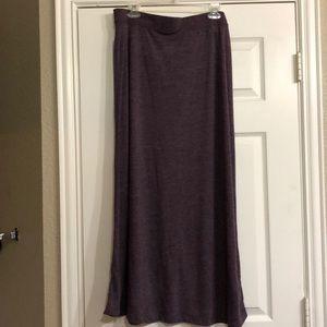 Purple Gap maxi Skirt